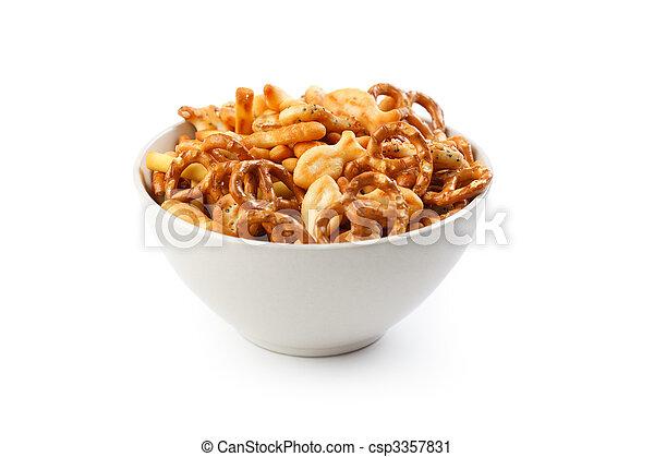 salty snacks - csp3357831