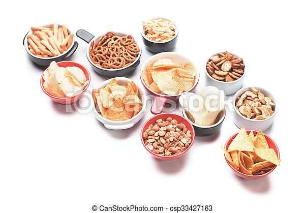 Salty snacks - csp33427163