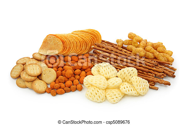 Salty snacks - csp5089676