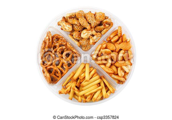 salty snacks - csp3357824