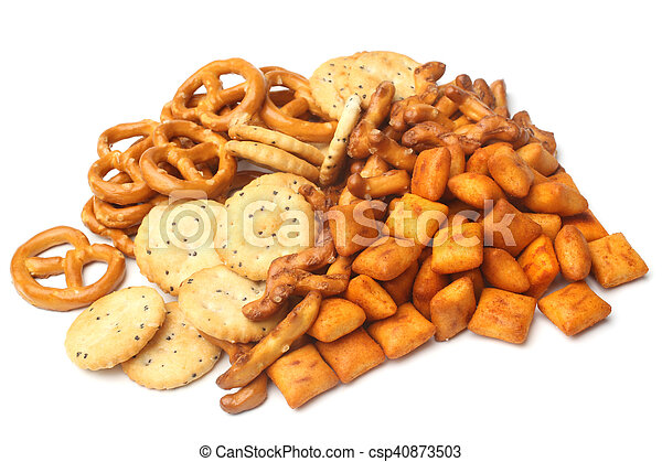 Salty snacks - csp40873503