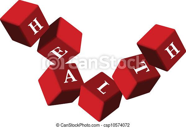 De dados de salud - csp10574072