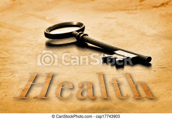 Llave de la salud - csp17743903