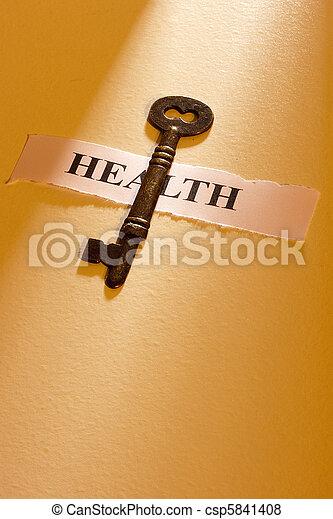 La clave de la salud - csp5841408