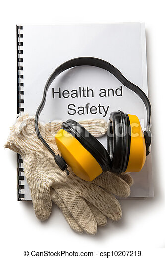 salud, registro, seguridad, audífonos - csp10207219