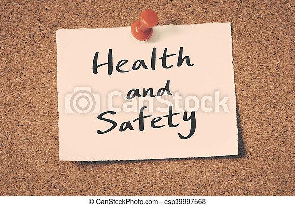 Salud y seguridad - csp39997568