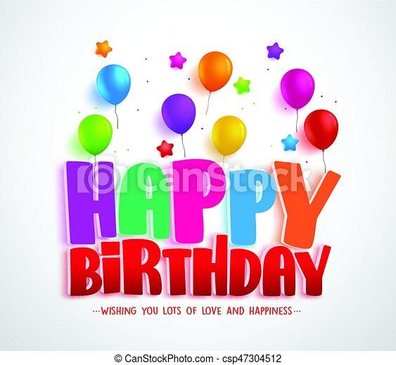 Feliz Vector De Cumpleaños Diseño De Tarjetas De