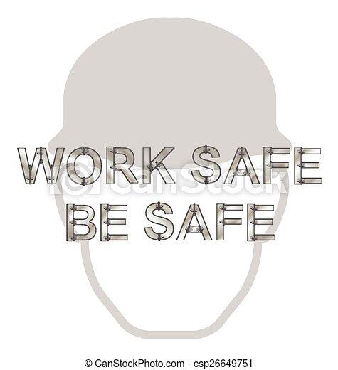 salute, messaggio, sicurezza - csp26649751
