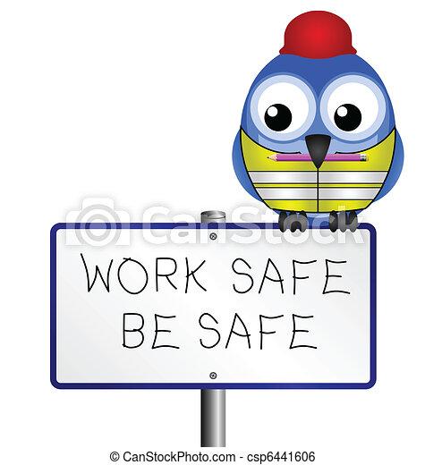 salute, messaggio, sicurezza - csp6441606
