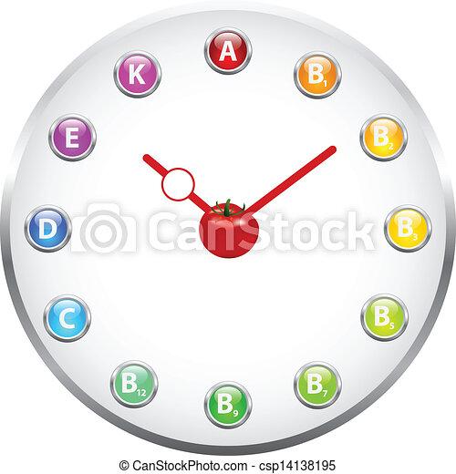 salute, orologio - csp14138195