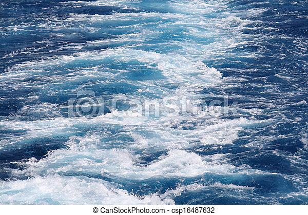 Agua salvaje - csp16487632