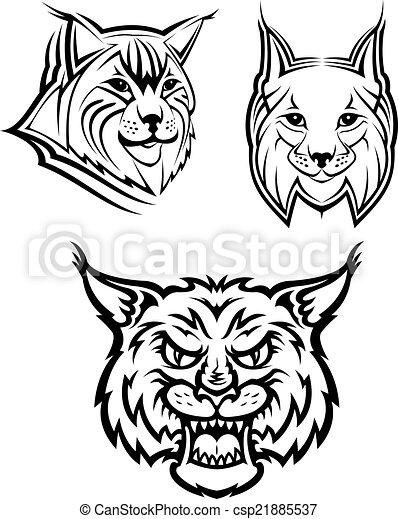 Gato salvaje o mascotas lince - csp21885537