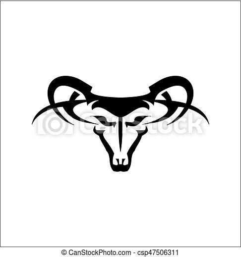 Cabra salvaje, carnero - csp47506311