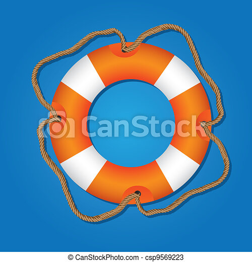 Flota salvavidas - csp9569223