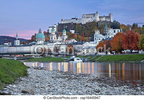 Salzburg, Austria. - csp16445947