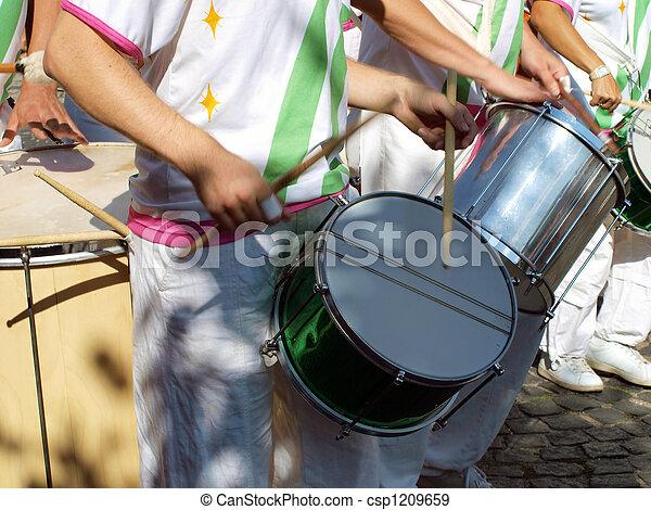 Samba carnival parade - csp1209659