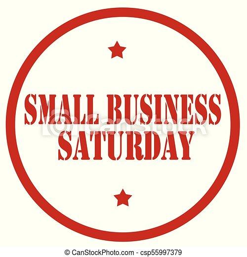 samedi, business, petit - csp55997379