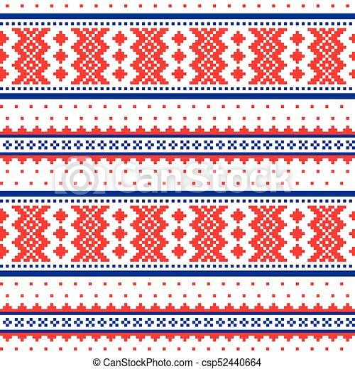 Sami, arte, invierno, gente, escandinavo, patrón, inspirado, laponia ...
