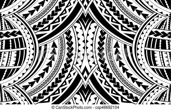 Samoa-Stilschmuck - csp46692104