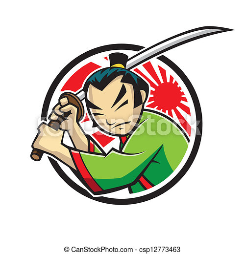 samouraï - csp12773463
