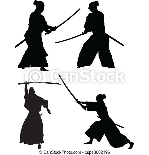 samouraï - csp13602196