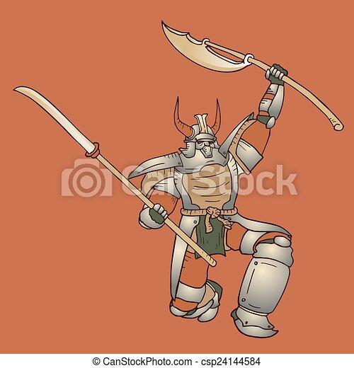 samouraï, shogun - csp24144584