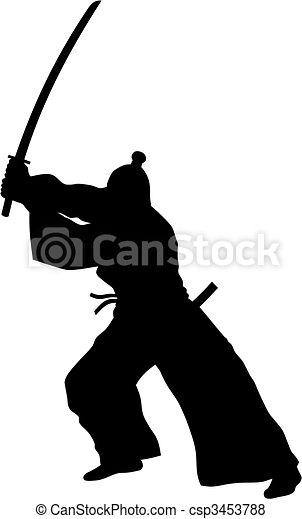 samouraï - csp3453788
