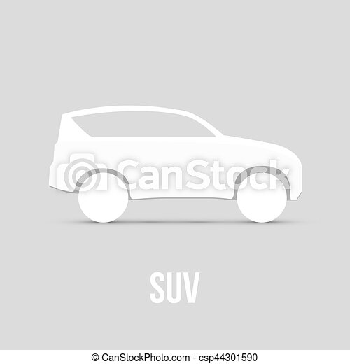 Sample Car Icon Isolated Vector illustration - csp44301590