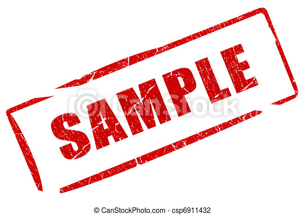 Sample stamp - csp6911432