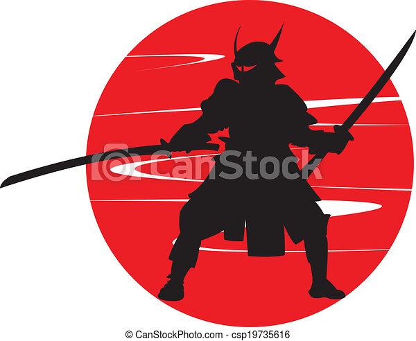 samurai. - csp19735616