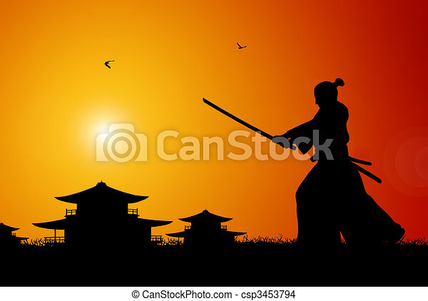 Samurai - csp3453794