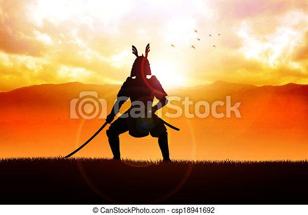 Samurai - csp18941692