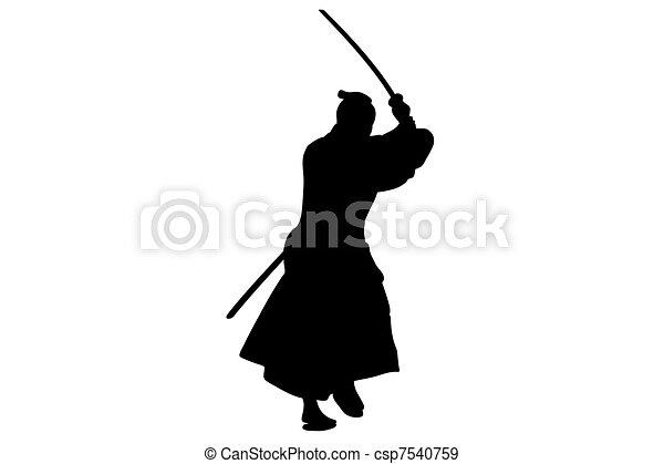 Samurai - csp7540759