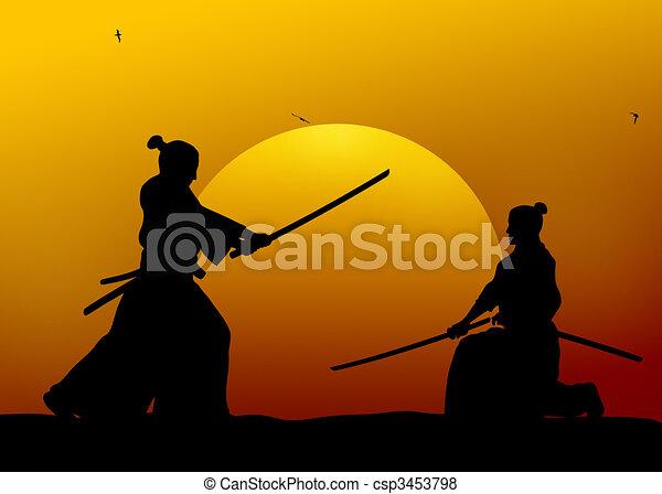 Samurai - csp3453798