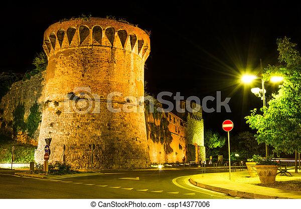 San Francisco bastion, San Gimignano, Tuscany - csp14377006