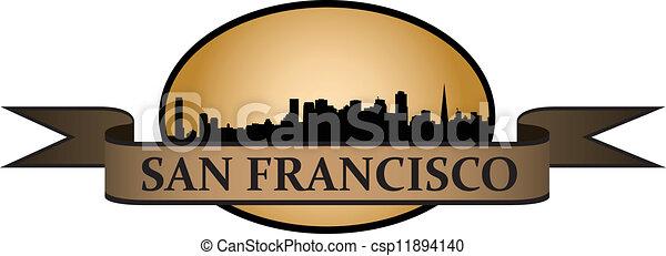 San Francisco crest - csp11894140