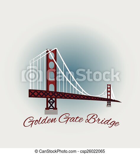 San Francisco Golden Gate Bridge  - csp26022065