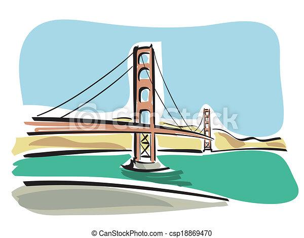 San Francisco (Golden Gate) - csp18869470