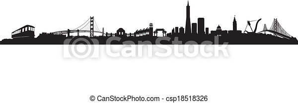 San Francisco Skyline  - csp18518326