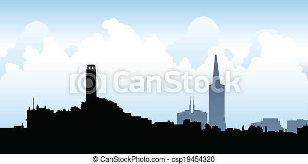 San Francisco Skyline - csp19454320