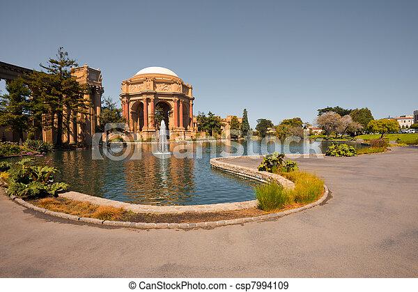 San Francisco Tourist Attraction - csp7994109