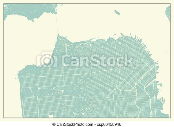 San Francisco USA Map in Retro Style on richmond map, detroit map, nashville map, stockton map, las vegas map, miami map, pittsburgh map, tokyo map, new orleans map, atlanta map, omaha map, sutter street sf map, los angeles map, santa rosa map, indianapolis map, salt lake city map, california map, cincinnati map, boston map, london map,