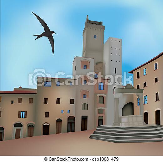 San Gimignano - csp10081479