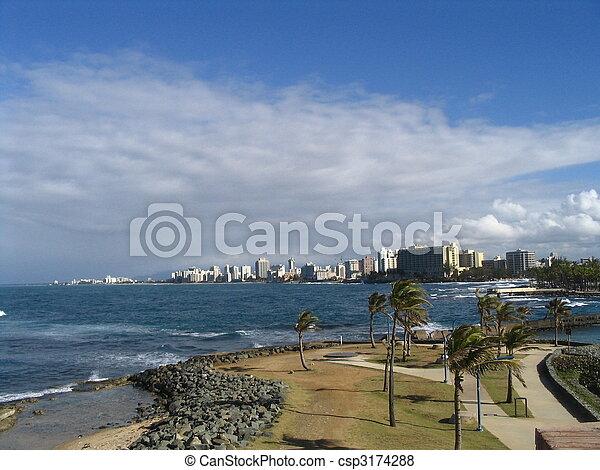SAN juan,puerto Rico,Caribbean-West Indies - csp3174288