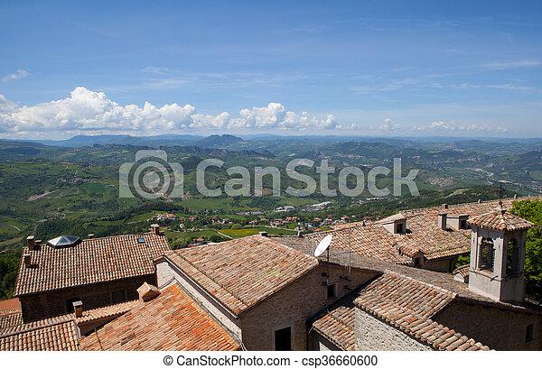 San Marino view - csp36660600