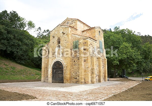 San Miguel de Lillo church - csp6971057