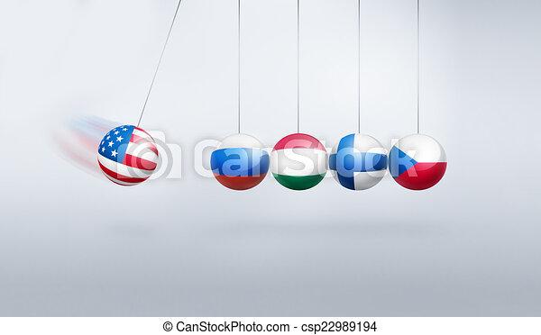 sanctions pendulum - csp22989194