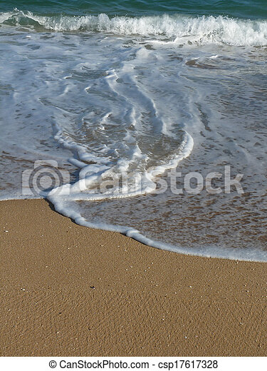 Sand and water - csp17617328