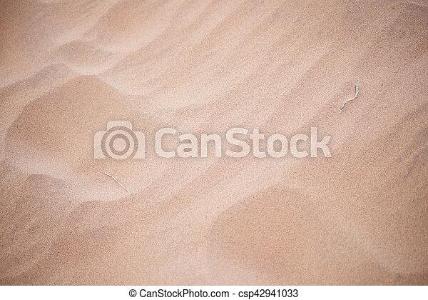 sand background - csp42941033