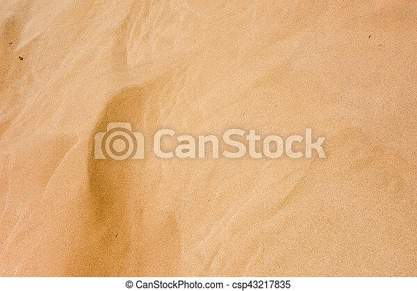sand background - csp43217835